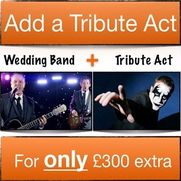 Special offer when booking a wedding band and Tribute Act